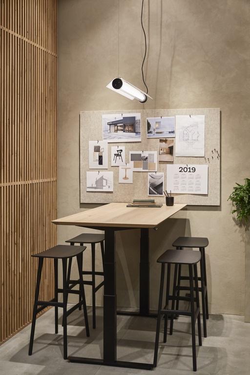 Bok aanpasbare bureau