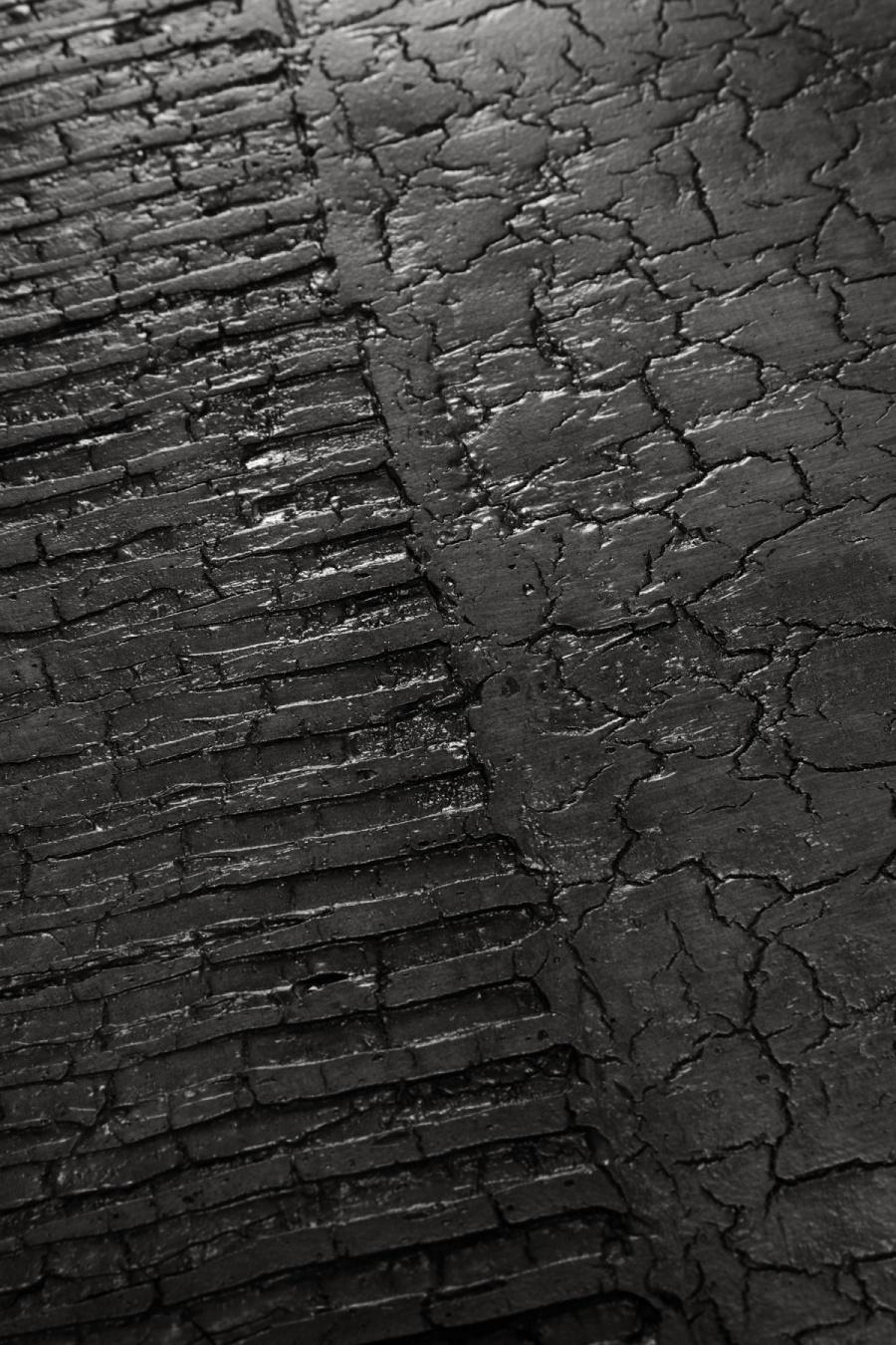 Ethnicraft - Bijzettafels - Celeste lava linear bijzettafel