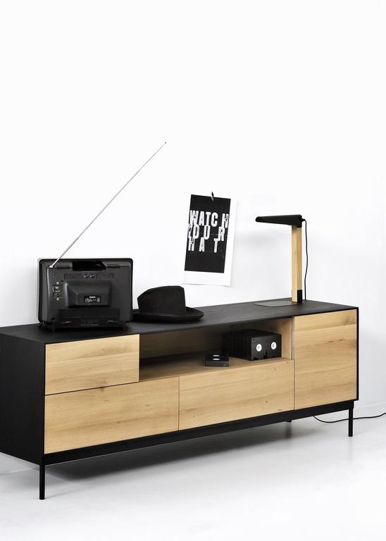 Ethnicraft - Tv-kasten - Blackbird tv-kast