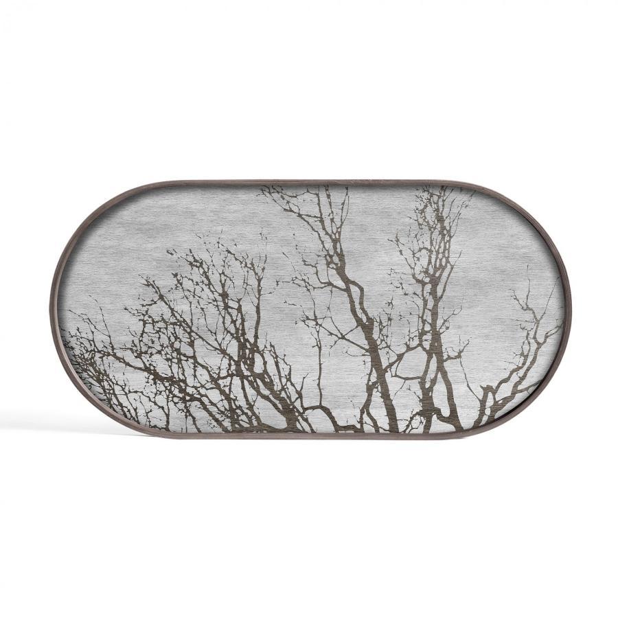 Ethnicraft - Ovalen dienbladen - White Tree houten dienblad - M