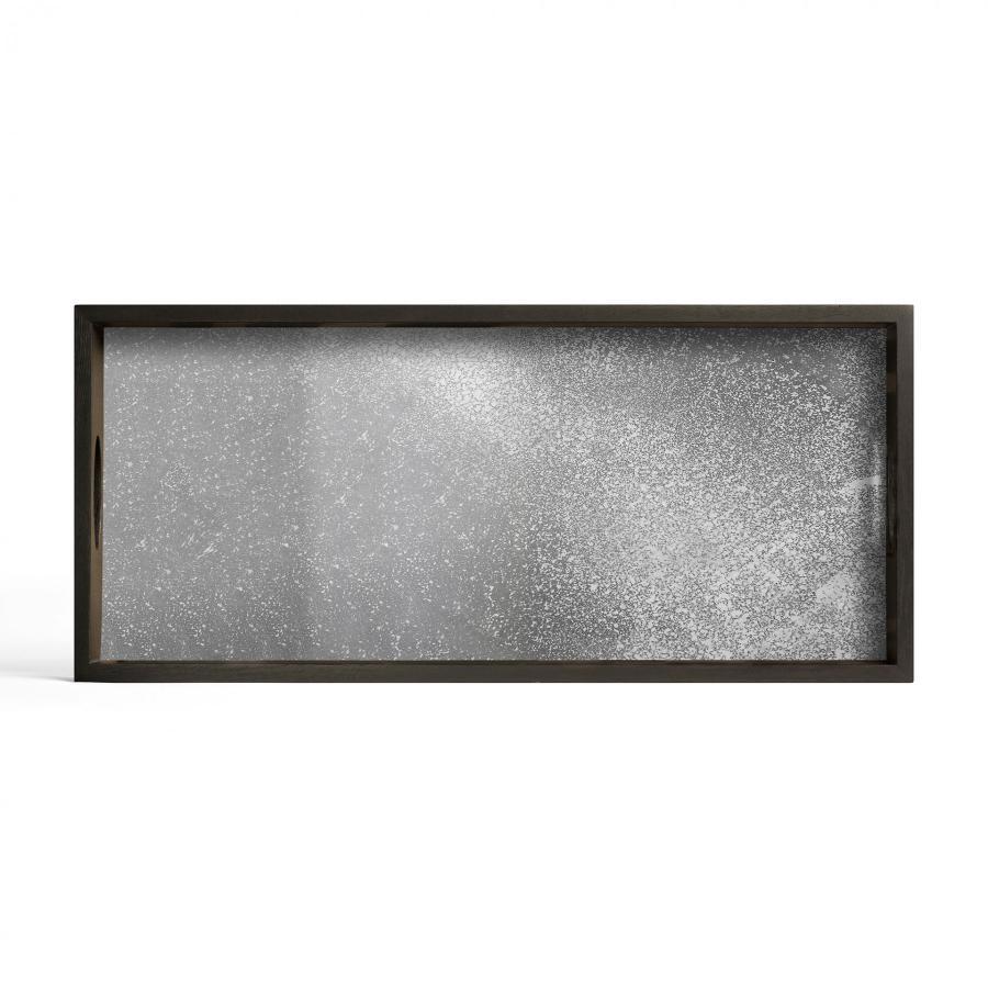 Ethnicraft - Rechthoekige dienbladen - Frost spiegel dienblad - M